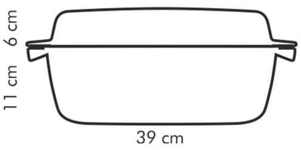 Tescoma PREMIUM pekáč s poklopem 39 x 22 cm3