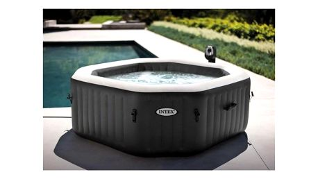"Intex Pure SPA 79"" Jet & Bubble Massage Octagon, 128454GN"