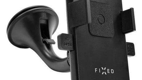 Držák na mobil FIXED FIX2 s přísavkou, šířka 6,5 - 8,5 cm černý (FIXH-FIX2)
