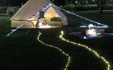 Singapur: Glamping Kaki - Medium Bell Tent