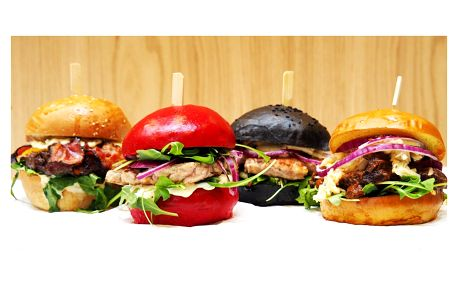 Burger ve Freaky burgers dle výběru z 5 druhů