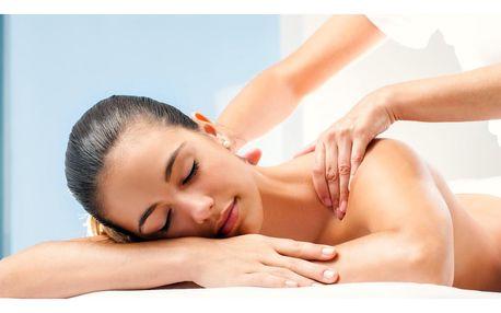 Breussova masáž, zábal zad a masáž chodidel pro ženy