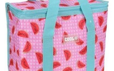 Koopman Chladicí taška Fruity růžová, 34 x 16,5 x 36 cm
