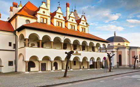 Pobyt v centru Levoče v oblíbeném hotelu U Leva ***