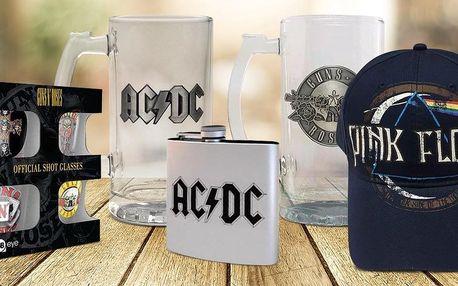 Licenční dárky AC/DC, Pink Floyd a Rolling Stones