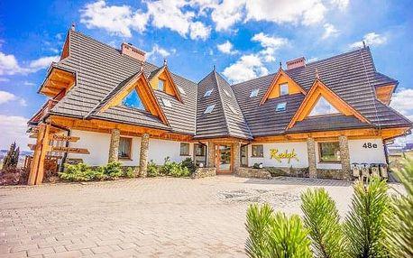 Polské Tatry v Hotelu Redyk Ski&Relax *** na jaro s neomezeným wellness