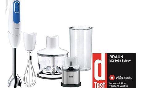 Braun Multiquick 3 MQ3038WH bílý/modrý