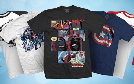 Trička Marvel: Punisher, Avengers i Deadpool