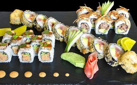 Gurmánský sushi set s 26 kousky speciálních rolek