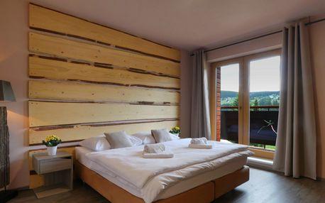 Rodinná dovolená v hotelu Obzor v Peci pod Sněžkou s polopenzí a saunou