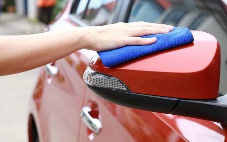 Čištění interiéru vozu i kompletní mytí