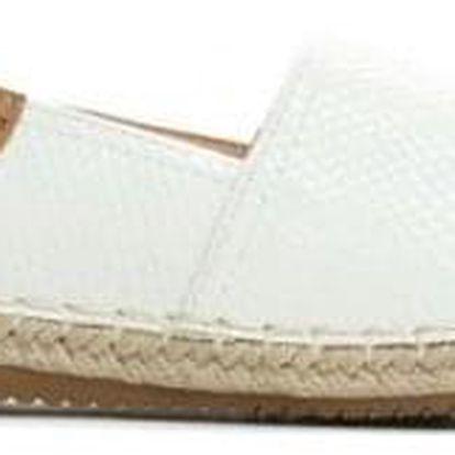 Dámské bílé sandály Menorca 8419