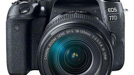 Canon EOS 77D + 18-55 IS STM černý (1892C017AA)