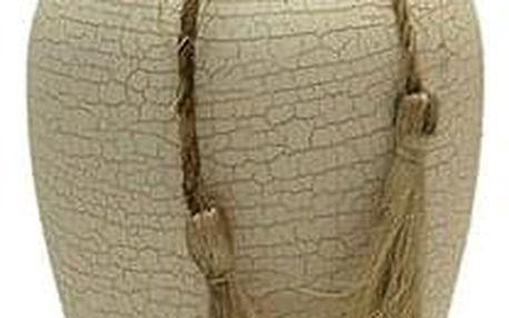 Váza keramická - bílá