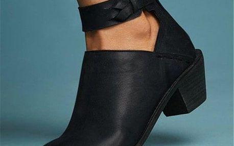 Dámské boty na podpatku Magdalena