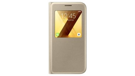 Samsung S-View pro Galaxy A5 2017 zlaté (EF-CA520PFEGWW)
