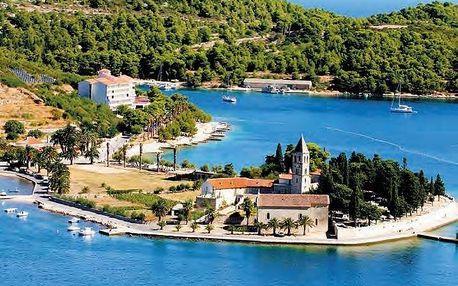 Chorvatsko - Vis na 8 dnů, polopenze