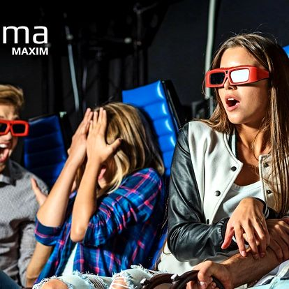 Lístek na libovolný film v 5D Cinema MAXIM