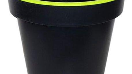 Kvalitní plastový květináč SEGA velký zelený 40x36 cm