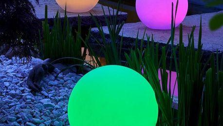 Záhradní Osvětlení Led-solar Ben Ø 30 Cm