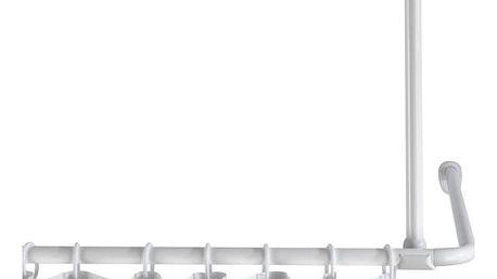Držák pro zavěšení tyče na sprchový závěs, Ø 2 cm, 57 cm, WENKO