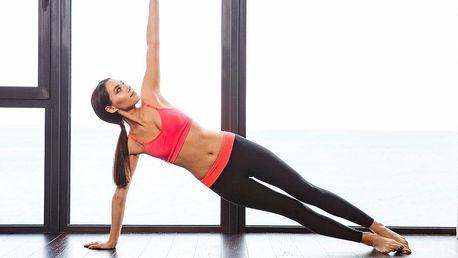 Lekce pilates a spirální stabilizace