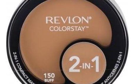 Revlon Colorstay 2-In-1 12,3 g kompaktní make-up a korektor 2v1 pro ženy 150 Buff