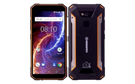 myPhone HAMMER ENERGY 18X9 LTE černý/oranžový (TELMYAHENER189LOR)