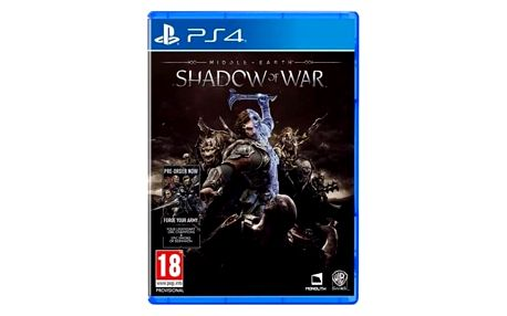 Ostatní PlayStation 4 Middle-earth: Shadow of War (5051892209359)