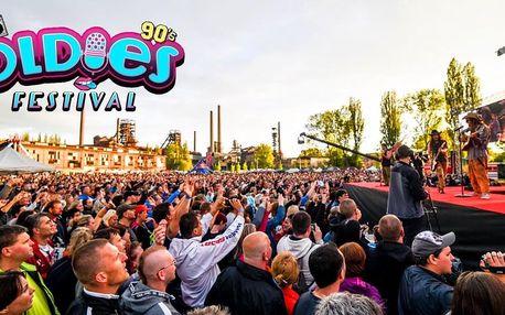 Vstupenka na Oldies festival s hity 90. let