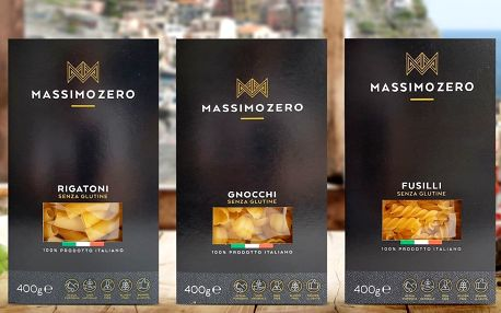 Italské bezlepkové těstoviny: penne i rigatoni
