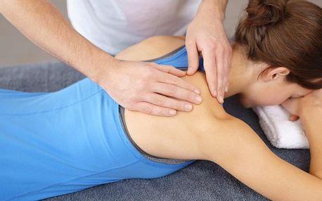 Výběr ze 3 masáží i s protahovacími cviky