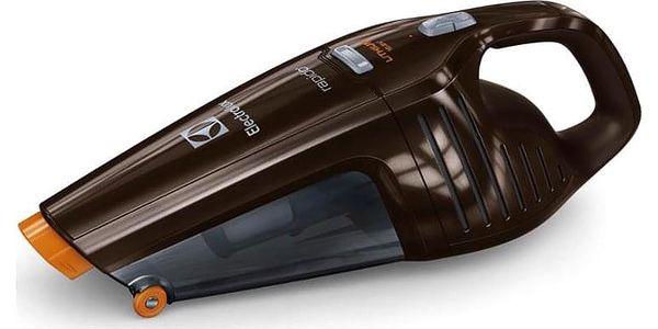 Akumulátorový vysavač Electrolux Rapido ZB6108C hnědý4