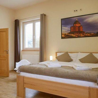 Romantický pobyt v Penzionu Adéla