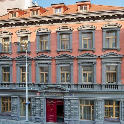 Romantický pobyt se stylem pro 2 v Praze