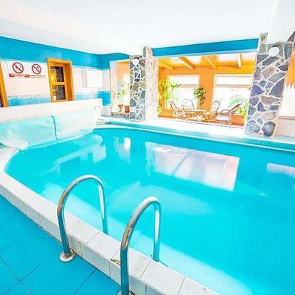 Slovenská Orava v penzionu s bazénem, solnou jeskyní, saunou a fitness neomezeně i polopenzí a slevami