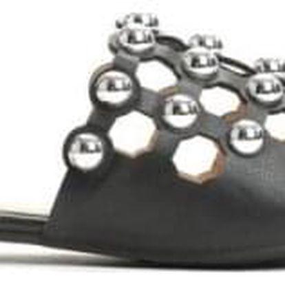Dámské černé pantofle Peggy 012