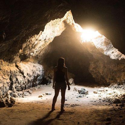 Zábavná trasa v jeskyni