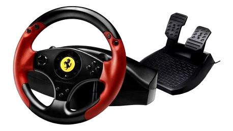 Thrustmaster Ferrari Red Legend pro PC, PS3 + pedály černý (4060052)