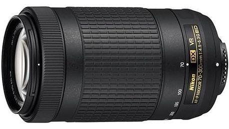 Nikon NIKKOR 70-300 mm F/4.5-6.3G ED AF-P DX VR černý (JAA829DA)