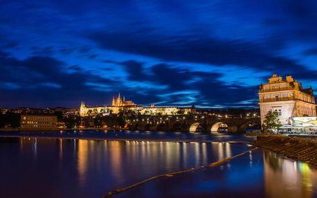 Vyhlídková plavba po Vltavě s večeří