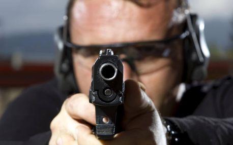 Balíček akční střelby na krytém střelnici