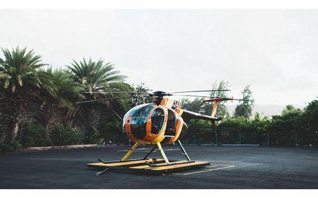 Pilotem vrtulníku na zkoušku, instruktážní let