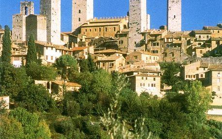 Itálie - Florencie autobusem na 7 dnů, snídaně v ceně