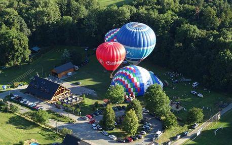 Vyhlídkový let balonem - Akční letenka