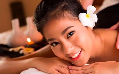 Thajské masáže celého těla dle výběru: 60 minut