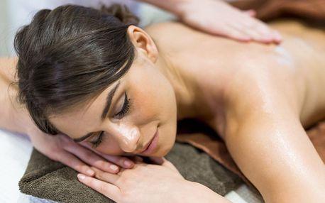 60minutová masáž zad a šíje od nevidomého maséra