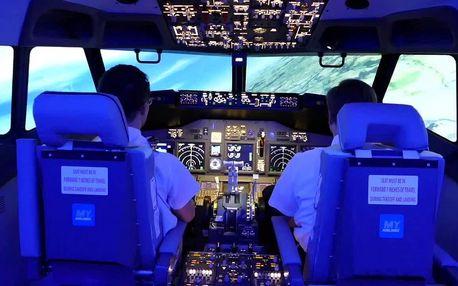 Simulátor letu v Boeingu 737 v Praze