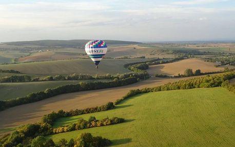 Vyhlídkový let malým balonem: Lety po celé ČR