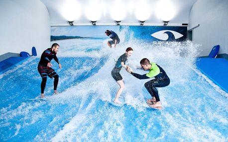 Indoor surfing - surfování na umělé vlně